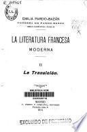 La Literatura francesa moderna....