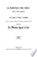 La maravilla del siglo, cartas á Maria Enriqueta,