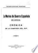 La marina de guerra española en Africa