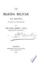 La marina militar en España