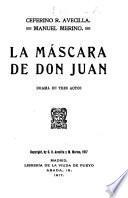 La máscara de don Juan