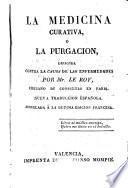 La medicina curativa o la purgacion