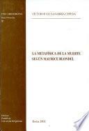 La metafísica de la muerte según Maurice Blondel