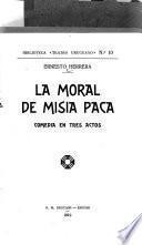 La moral de misia Paca