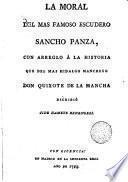 La Moral del mas famoso escudero, Sancho Panza