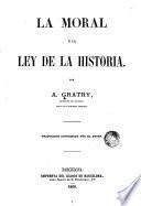 La Moral y la ley de la historia