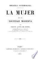 La mujer en la sociedad moderna
