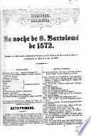 La Noche de S. Bartolomé de 1572
