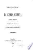 La novela moderna