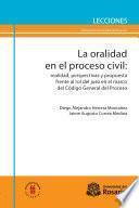 La oralidad en el proceso civil