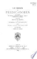 La Orden de predicadores