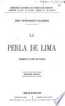 La perla de Lima