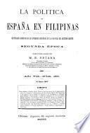 La Política de España en Filipinas