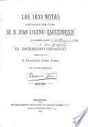 La primera edición del Ingenioso hidalgo Don Quijote de la Mancha