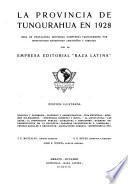 La Provincia de Tungurahua en 1928