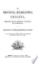 La provincia eclesiástica chilena