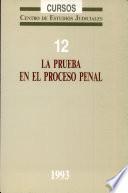 La prueba en el proceso penal