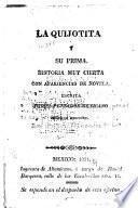 La Quijotita y su prima