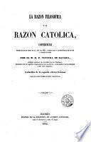 La razón filosófica y la razón católica