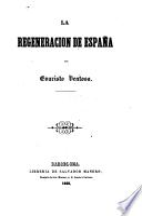 La Regeneracion de España