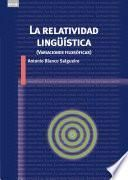 La relatividad lingüística