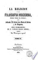 La Religión y la filosofía moderna, 2