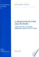 La resurrección de Cristo como revelación