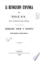 La revolución española en el siglo XIX