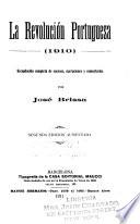 La revolución portuguesa (1910)