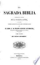 La Sagrada Biblia, traducida al español de la Vulgata latina...
