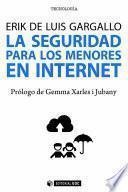La seguridad para los menores en internet
