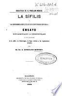 La sífilis y las enfermedades que se han confundido con ella