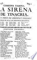La Sirena de Trinacria, comedia