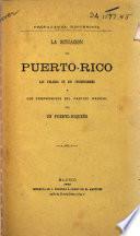 La situación de Puerto-Rico