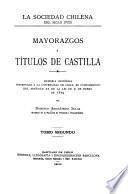 La Sociedad Chilena Del Siglo XVIII.