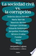 La sociedad civil vs. la corrupción