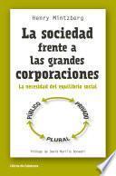 La sociedad frente a las grandes corporaciones