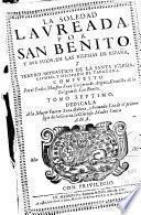 La Soledad Lavreada por San Benito