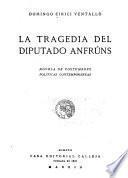 La tragedia del diputado Anfrúns
