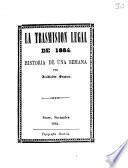 La trasmision legal de 1884