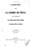 La verdad desnuda sobre la guerra de Tejas