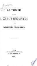 La verdad sobre el contrato Rosas-Goyeneche y sobre los contratos Pierola-Dreyfus
