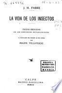 La vida de los insectos