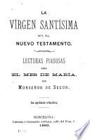 La Virgen Santisima en el Antiguo Testamento