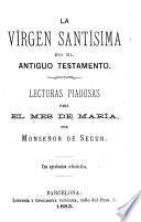 La Virgen Santisima en el Nuevo Testamento