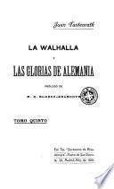 La Walhalla y las glorias de alemania