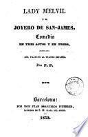 Lady Melvil, ó, El joyero de San-James