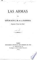 Las Armas del señor don L.M. de la Barrera