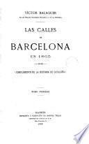 Las Calles de Barcelona en 1865