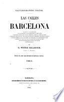 Las Calles de Barcelona Origen de sus nembres